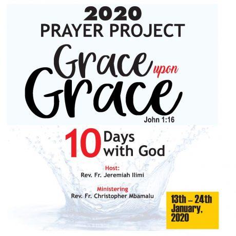 CKC 10 Days with God Prayer Project 2020 Grace upon Grace